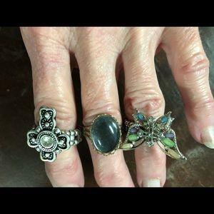 Rings set of 3